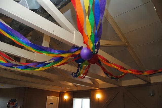 Rainbow Party Decor
