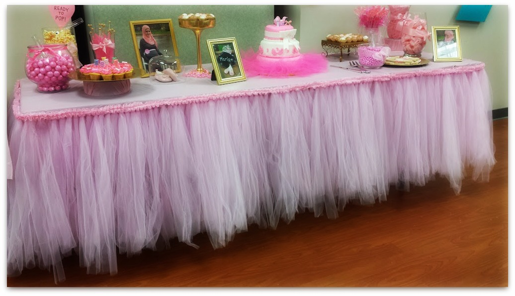 How To Make A Tutu Tableskirt