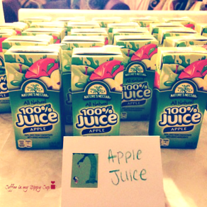 'The Giving Tree' Apple Juice