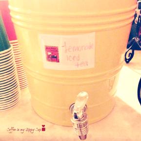 'Maisy Makes Lemonade' Lemon Iced Tea